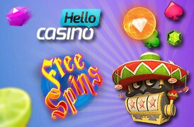 Hello Casino 50 Free Spins Wait for Everyone Here
